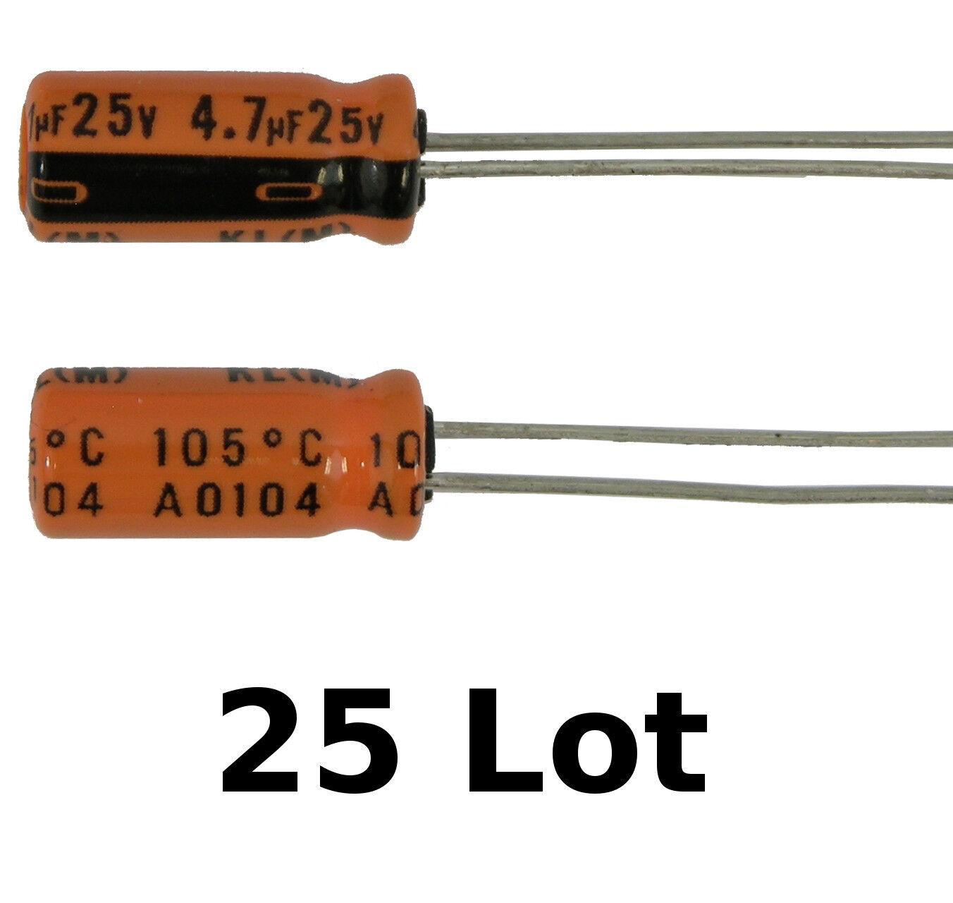 Nichicon 330uf 330ufd 63V Volt 105 Degree Hi Temp Radial Electrolytic Capacitor