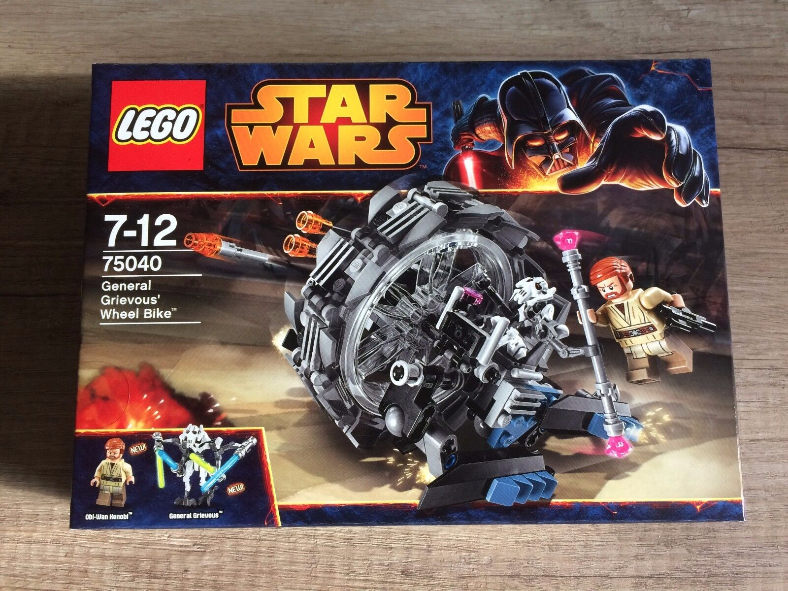 Lego 75040 75040 75040 Star Wars General Grievous Wheel Bike Neu New OVP 424430