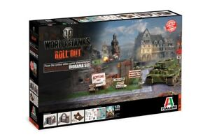 6505-Italeri-1-35-Diorama-Box-Himmelsdorf-World-of-Tank-Serie-GMK-World