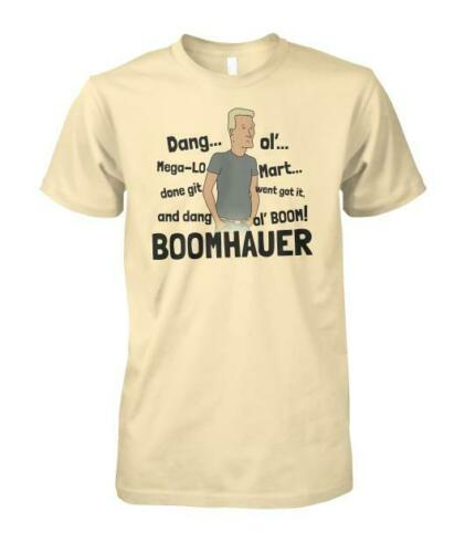 Boomhauer Tells About Mega Lo Mart King Of The Hill Shirt