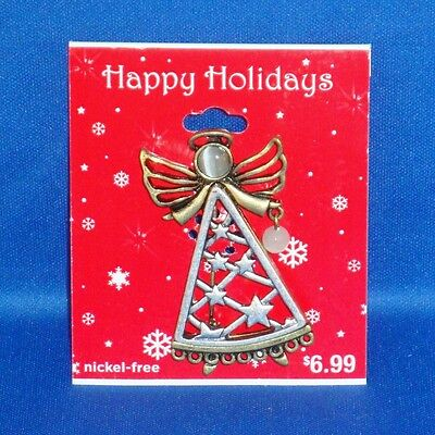 Target - Christmas - Happy Holiday Pin / Brooch - NEW