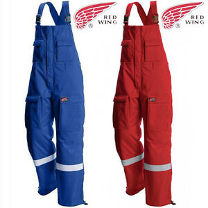 Bib-And-Brace-Overalls-Work-Dungarees-Hi-Viz-Flame-Retardant-Welder-Mechanic