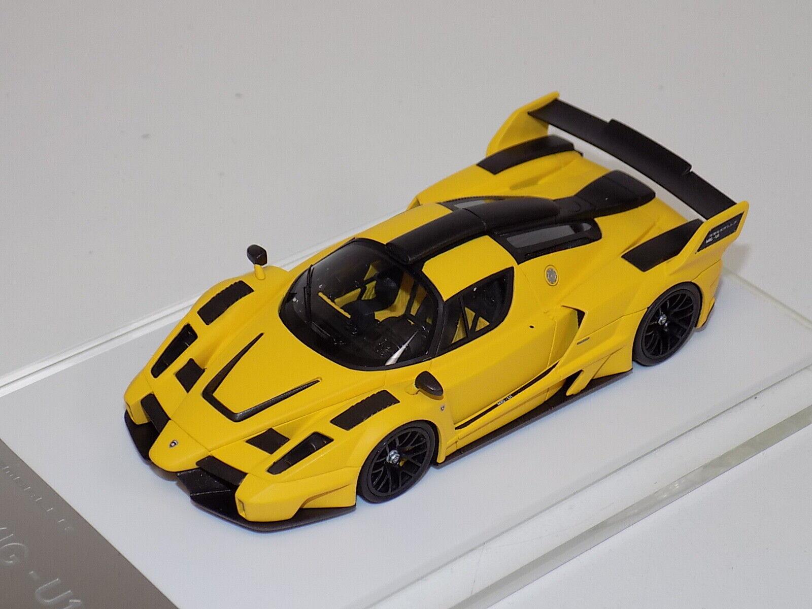 1 43 Davis and Giovanni Ferrari Gemballa MIG- U1 in  Gelb   VERY RARE GP057