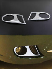NEW Chrome FOG LIGHT Surrounds Covers Trims for Jaguar X Type X400 08-09 LCI