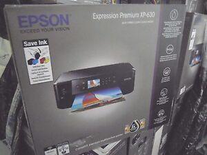 Epson-XP-630-Multifunzione-Wi-Fi-stampa-su-CD-e-DVD-NUOVA-imballo-poco-rovinato