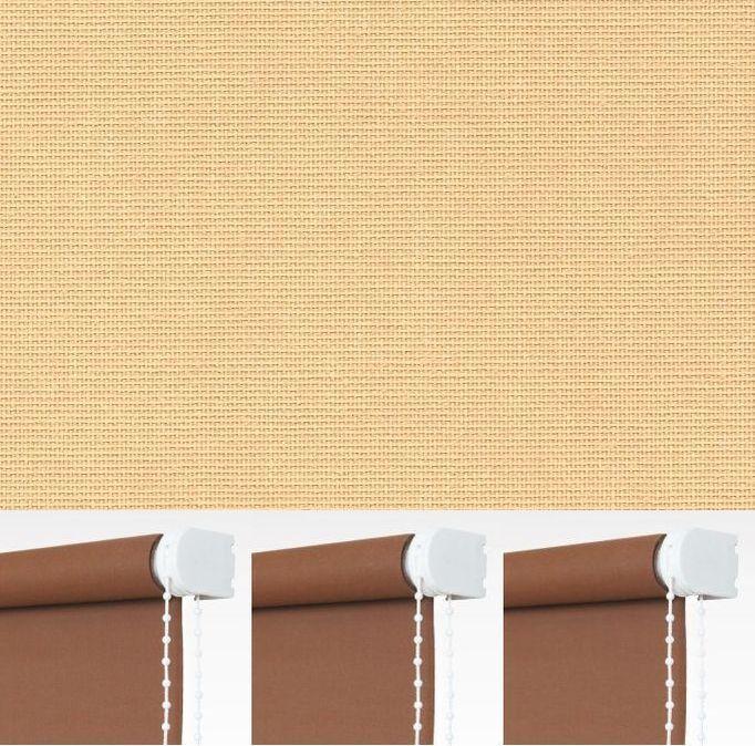 Kettenzugrollo Seitenzugrollo Fenster Rollo Apricot Breite 60-240 cm Länge 180cm  | Elegante Und Stabile Verpackung  | Moderate Kosten  | Kaufen