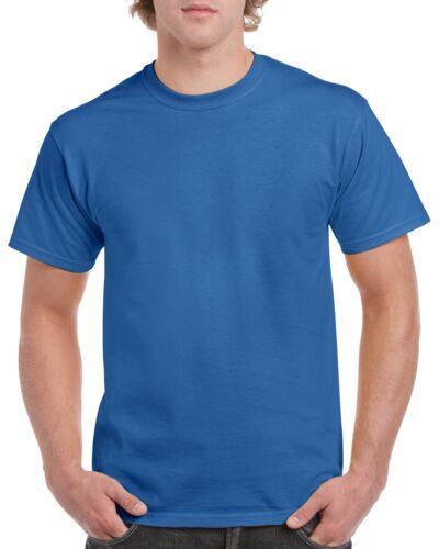 2XL Small Big Men/'s Cotton Premium Quality Gildan T-SHIRT blank plain tee S