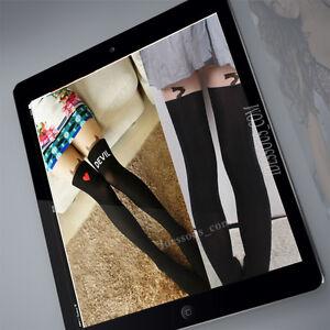 Blogger-sexy-Strumpfhose-Tattoo-Tights-Devil-overknees-Lolita-cosplay-Leggings