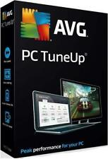 AVG PC TuneUp 2016 2017 3 PCs FOR 3 YEARS License Key + Clean & Speed Up Your PC