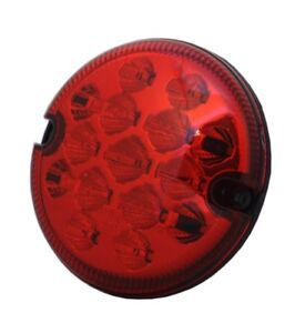 For-Land-Rover-Defender-88-90-109-110-Nas-Red-LED-Fog-Light-12-24V-95mm-Wipac