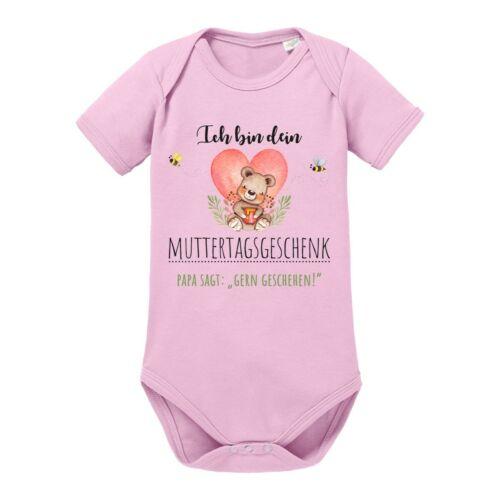 """/""""Ich bin dein Muttertagsgeschenk/"""" 100/% Baumwolle NEU Kinder Babybody Modell"""