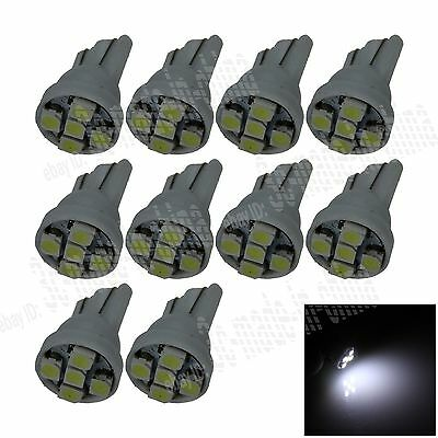 10X Car White 5 LED 1210 SMD T10 W5W Bulb Wedge Side Light Corner Bulb Lamp A022