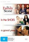 Family Stone / In Her Shoes / A Good Year (DVD, 2007, 3-Disc Set)