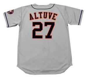 huge discount 8c276 8df7c Details about JOSE ALTUVE Houston Astros Majestic Away Baseball Jersey