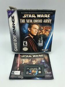 Star-Wars-The-New-Droid-Army-Nintendo-Game-Boy-Advance-2002-Used-Read-Descrip