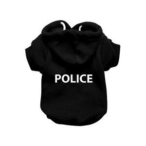 POLICE-Black-Dog-Sweatshirt-Hoodie-Dog-Sweater-Dog-Jumper-Dog-Clothing