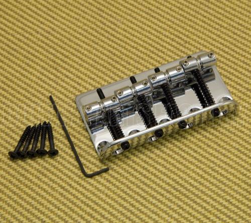 008-1459-000 Chrome Fender 4-String Jazz P//Precision Standard Bass Bridge