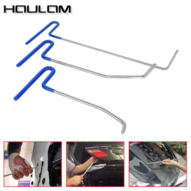 3PCS  Body Dent Removal Car Rod Tools Kit Hail and Door Ding Repair