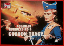 Thunderbirds PRO SET - Card #038 - Aquanaut Thunderbird 4 Gordon Tracy - Pro Set