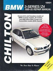 1999 2005 bmw 325i 325xi 330i 330xi z4 repair service workshop rh ebay co uk 2005 bmw 325i owners manual 2004 bmw 325i owners manual