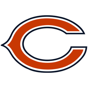 """Chicago Bears NFL Vinyl Decal Sticker Reflective OFFICIAL NFL 3"""" Decal"""