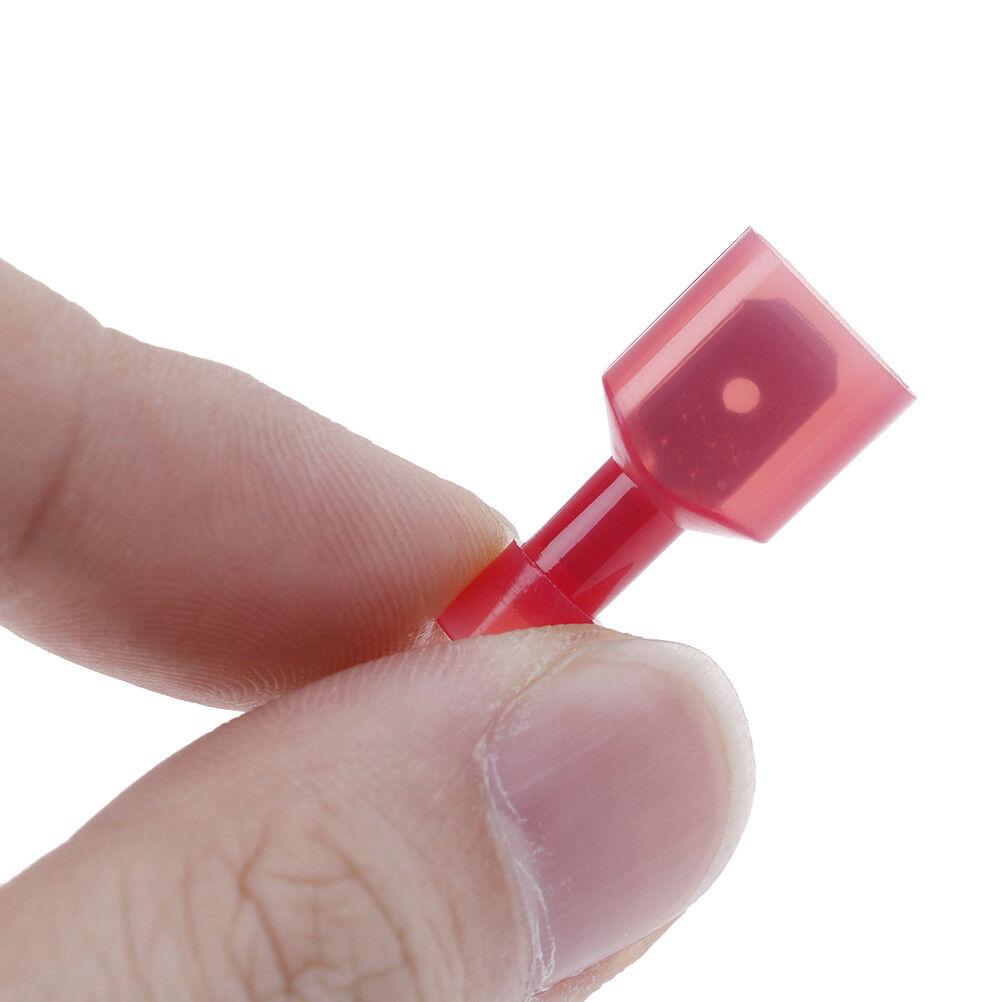 30X wire cable connectors terminals crimp quick splice 0.5mm-6mm kit tool sRSDE