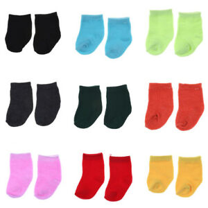 9-colors-Socks-Doll-Clothing-Wear-Fit-43-cm-Dolls-Clothes-JF