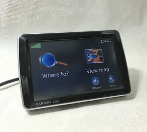 RARE-HTF-Garmin-nuvi-5000-Large-Display-Screen-GPS-ONLY-Navigation-2009-Maps
