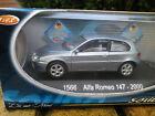 SOLIDO 1566 ALFA ROMEO 147 gris bleu de 2000 comme neuf en boite