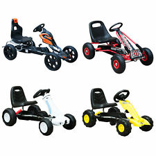 Kids Pedal Go Cart Children Outdoor Ride-on Car Racing Toy Wheels 4 Choices