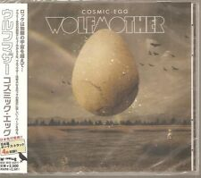 "WOLFMOTHER ""Cosmic Egg"" CD Japan sealed Sample Promo OBI UICO1172 2009"