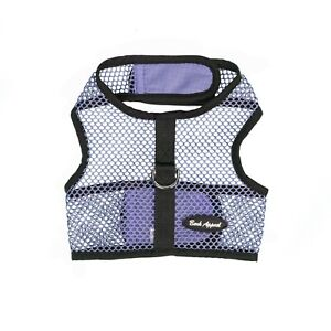 Bark-Appeal-Wrap-n-Go-Netted-Dog-Step-In-Harness-Lavender-Sizes-XS-XL