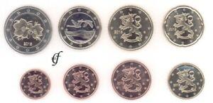 Finnland Kursmünze - wählen Sie von 1 Cent - 2 Euro und alle Jahre - Neu