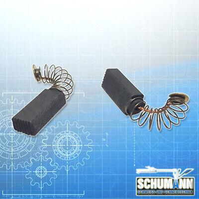 Kohlebürsten Kohlen Motorkohlen für Bosch POF 400 A 5x8mm 2604321905