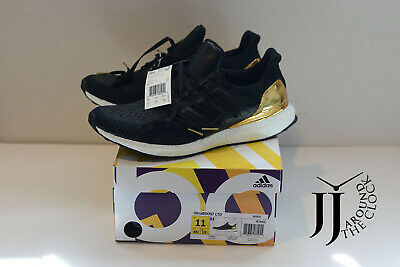 outlet store 793d4 c8496 New Adidas Ultra Boost 2.0 Black Gold Medal BB3929 11US | eBay