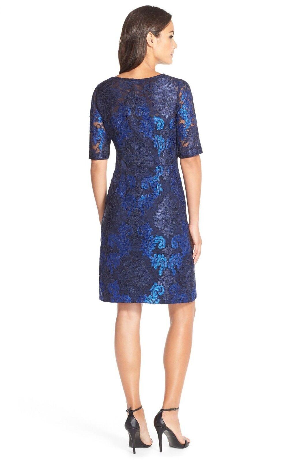 women Ricco Embroidered Lace Sheath Dress (size (size (size 8) 56a60b