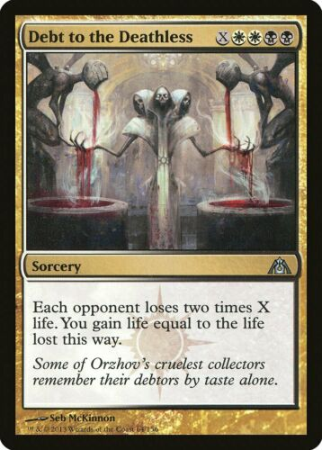 Debt to the Deathless Dragon/'s Maze NM-M White Black Uncommon MTG CARD ABUGames