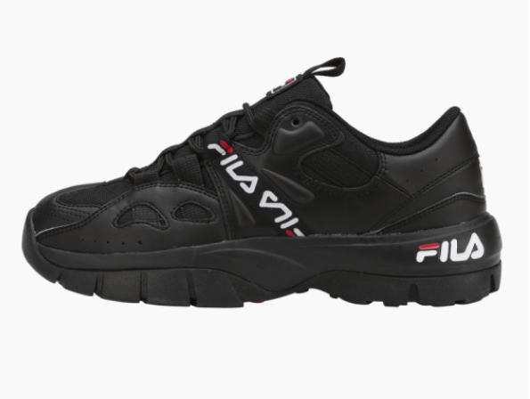 New FILA Hit N Run shoes Black Limited Edition US Size 5-10 Tracking FS1HTB1063X