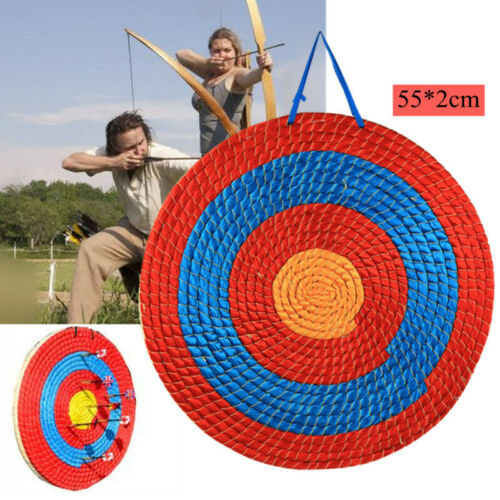 """22/"""" Grass Archery Shooting Bow Straw Arrow Target Hunting Practice Outdoor Sport"""