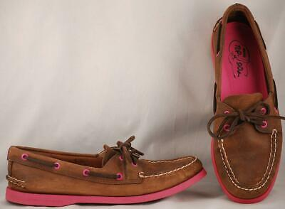 Pink Soles Boat Shoes 9.5 M