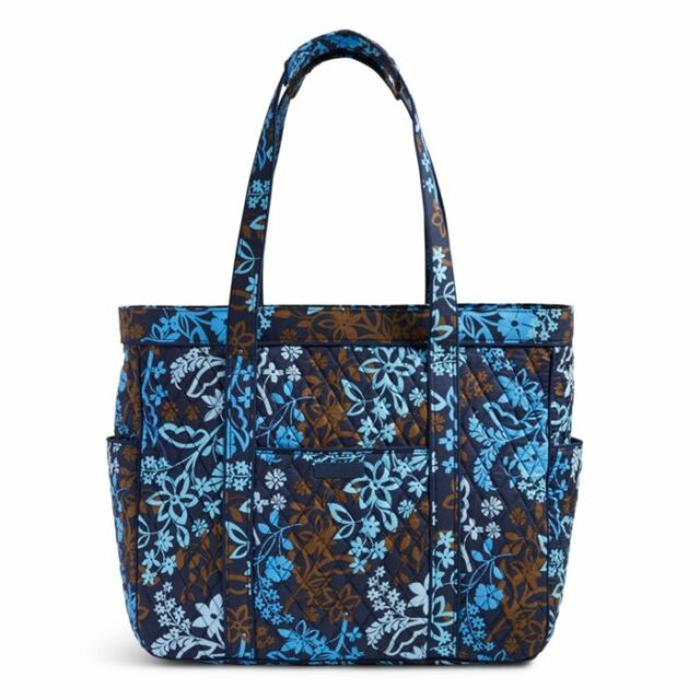Vera Bradley Get Carried Away Tote Overnight Bag Carry on Java ... d5cd573eda0a5