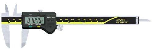 "Mitutoyo AbsOlute Digimatic Caliper Range 0 4/"" Digital NEW 500-195-30"