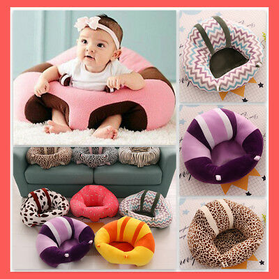 Baby Support Seat Learn Sit Sofa,Colorful Soft Chair Cushion Plush Pillow by Leoie
