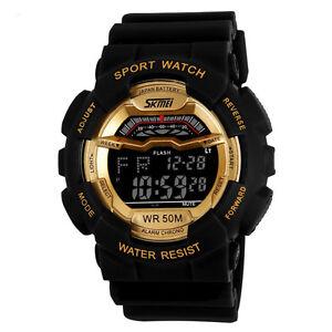 GOLD-WATERPROOF-MENS-DIGITAL-SPORTS-WATCH-SKMEI-Military-Water-Resistant-101
