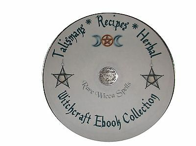 huge Lot TALISMANS RECIPES OILS HERBAL Wicca Witchcraft Book of Shadows ebooks