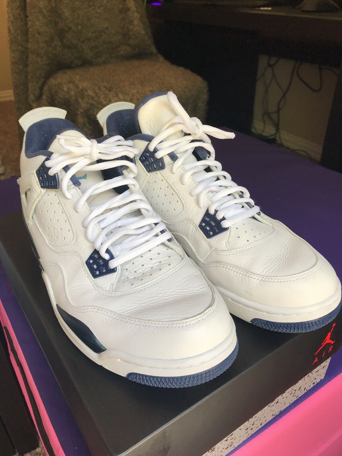 Jordan 4 Columbia Size 12 men's