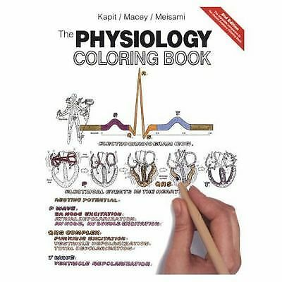 The Physiology Coloring Book by Elson Kapit, Esmail Meisami, (PL)