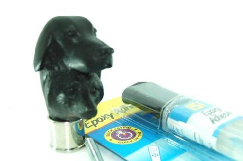 8mm rod Fox /& Hound head Chrome Collar 23g 151 resin kit walking stick making