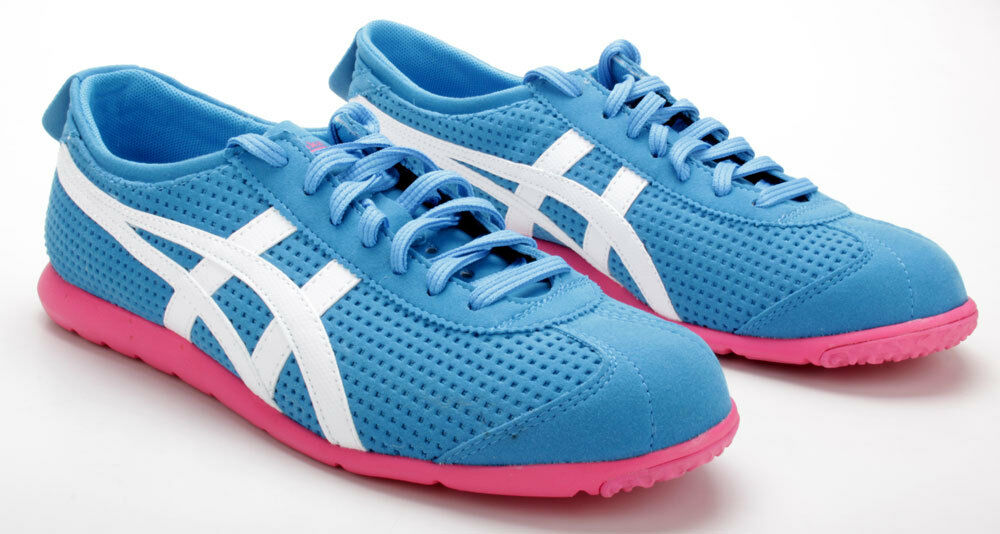Asics Schuhe Rio Runner D377Y 4201 Blau/WEISS
