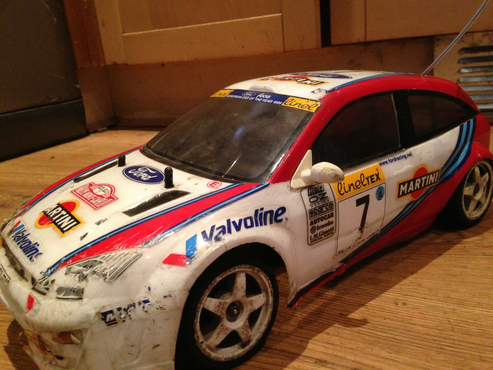 Tamiya focus rallye monte-carlo rc
